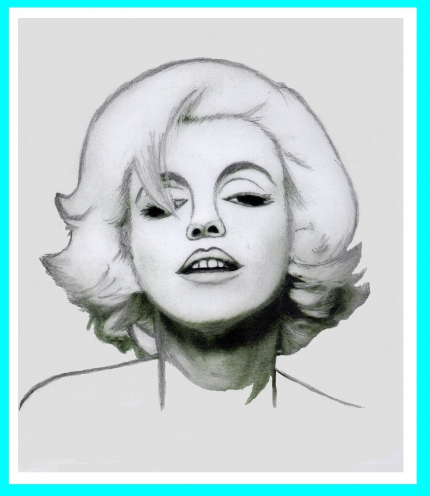 Marilyn Monroe by Vuilletjossjoss